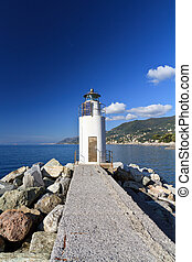 lighthouse in Camogli