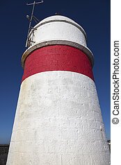 Lighthouse in Castletown, Isle of Man
