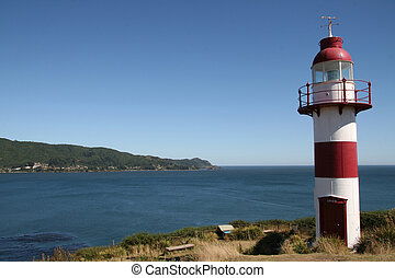 Lighthouse in Chile - Lighthouse near Valdivia in Chile