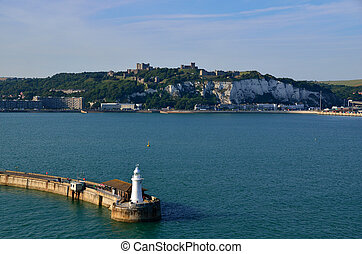 lighthouse in dover