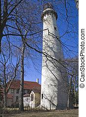 Lighthouse in Evanston