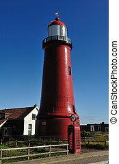 lighthouse in IJmuiden The Netherlands