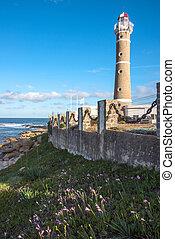 Lighthouse in Jose Ignacio near Punta del Este, Uruguay