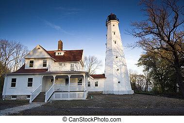 Lighthouse in Milwaukee