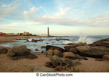 Lighthouse in San Ignacio, Uruguay