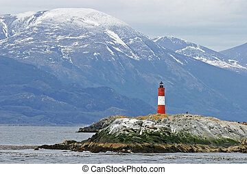 Lighthouse in Tierra Del Fuego - Lighthouse in Beagle ...