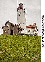 Lighthouse in Urk town - Netherlands.