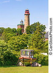 Lighthouse Kap Arkona, Schinkelturm - Lighthouse at Kap...