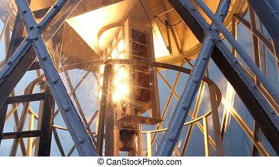 Lighthouse Lamp in Action. - Lighthouse Lamp in Action