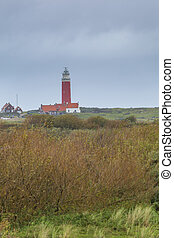 Lighthouse landscape Netherlands