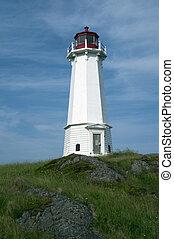 Lighthouse, Louisburg, NL