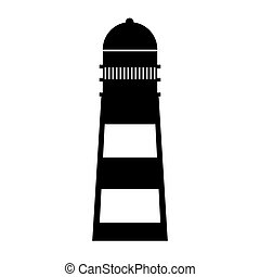 lighthouse maritime isolated icon