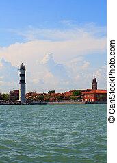 Lighthouse, Murano island
