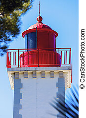 Lighthouse of Agay - Architecture of Antibes. Antibes,...