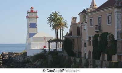 Lighthouse of  cascais portugal Europe, ocean coastline