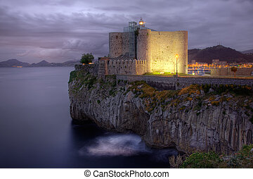 Lighthouse of Castro Urdiales, Cantabria, Spain