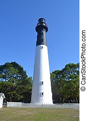 Lighthouse on Hunting Island