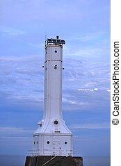 Lighthouse on Lake Erie