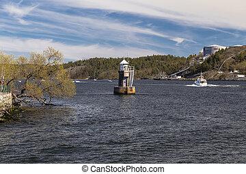 Lighthouse on Lake Malaren