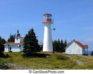 Lighthouse on Moshers Island Lahave Lunenburg County Nova...