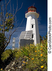 Lighthouse on Quadra Island, BC