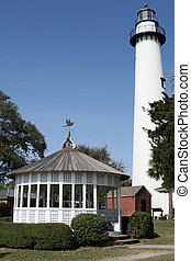 Lighthouse on St Simons Island