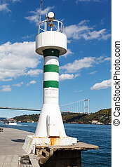 lighthouse on the Bosphorus