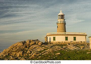 lighthouse on the coast of Minorca