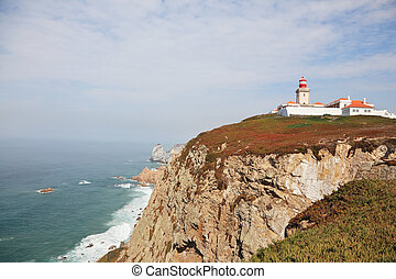 Lighthouse on the extreme western point of Europe