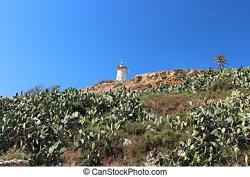 Lighthouse on the hill