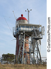 Lighthouse on the island of Vlieland
