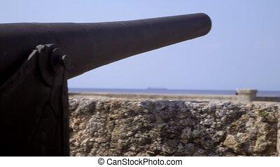 Lighthouse, sea, castle, Havana