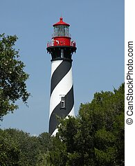 St. Augustine LIghthouse at St. Augustine Florida
