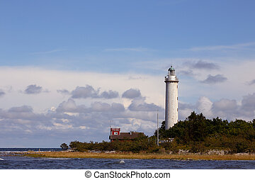 Lighthouse - The light house Lange Erik at the Swedish Oland...