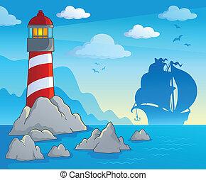 Lighthouse theme image 1
