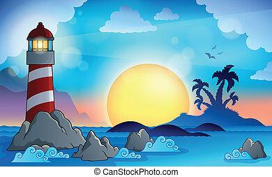 Lighthouse theme image 9