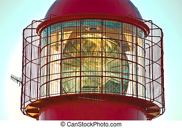 Lighthouse top detail