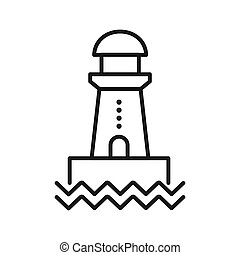 lighthouse vector illustration design
