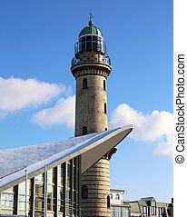 Lighthouse Warnemuende