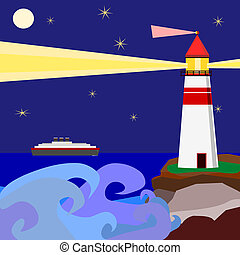 Lighthouse warnings