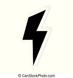 lighting bolt icon