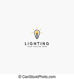 lighting bolt logo design modern