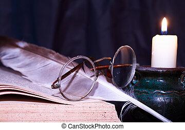 Lighting Candle Vintage