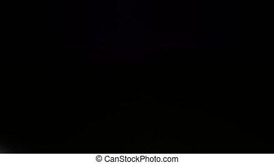 Lighting equipment, flash or spotlight, cam moves top down,...