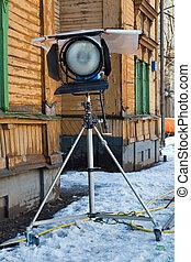 Lighting equipment - The lighting equipment for filming on ...