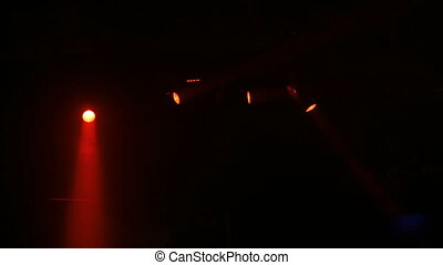 Lighting stage devices