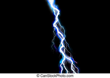 Lightning bolt - Poweful lightning bolt illustration on...