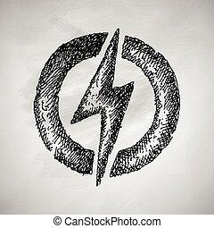 lightning bolt icon