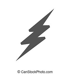 Lightning Bolt - Lightning, bolt, thunder icon vector image....