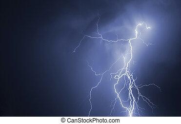 lightning., gewitter